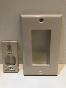 Minka Aire Fan Wall Control System Wall Plate Beige