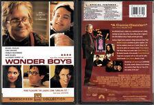DVD Michael Douglas WONDER BOYS Tobey Maguire Robert Downey Jr WS R1 OOP