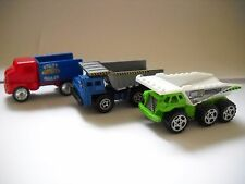 Matchbox Tipper Trucks x 2 plus Utility Lorry