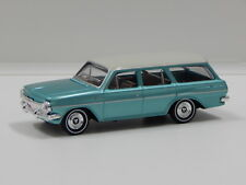 1:43 1963 Holden EH Premier Station Wagon (Portsea Blue/Ivory Roof) Trax TR6F