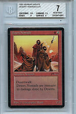 MTG Arabian Nights Desert Nomads BGS 7.0 (7) NM Magic Card 4891