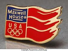 OLYMPIC PINS TEAM USA USOC MAXWELL HOUSE SPONSOR