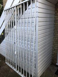 Banham French Window / Doors Concertina Security Shutters 1 set