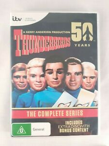 Thunderbirds (1965): The Complete Series (50 Years) DVD 9 Disk (Region 4)