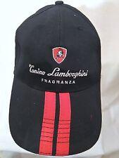 Tonino Lamborghini Fragranza Embroidered Black Hat Cap