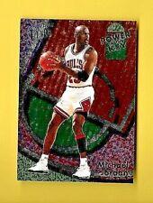 MICHAEL JORDAN 1993-94 FLEER ULTRA  POWER IN THE KEY  #2 CHICAGO BULLS