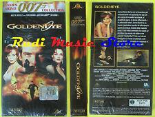 VHS film GOLDENEYE JAMES BOND 007 COLLECTION sigillata 2003 FABBRI (F27)  no dvd