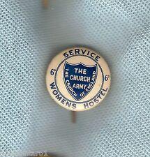 #D170. WWII  SERVICE WOMEN HOSTEL  TIN BADGE