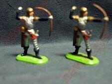 2 Vintage Britain's 1971 DeeTail Medieval Knights Archers