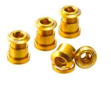 Reverse, Tornillos para Platos Set, Aluminio, 4 Tornillos, 4 Tuercas, 4 Unterlag