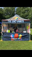 Hawaiian Shave Ice Snow Cones Sno Tubz Catering Business Very High Profit Margin
