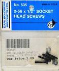 Carl Goldberg 535 2-56 x 1/2 Socket Head Screws GBG535