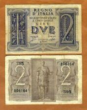 26 P ITALIA ITALY 1 LIRA 4.11.1939 UNC FREE SHIPPING IF YOU SPEND 100.00 $