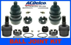BALL JOINT KIT Front Upper + Lower ACDELCO 46D2117A + 46D0058A 84-01 XJ CHEROKEE