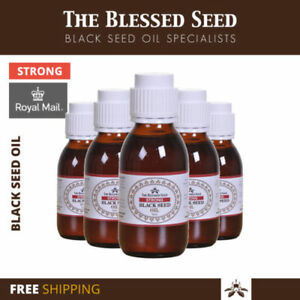 """Strong Black Seed Oil 100% Cold Pressed Kalonji oil By """"TheBlessedseed - 500 ML"""