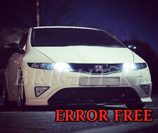 HONDA CIVIC TYPE R XENON PURE WHITE SIDELIGHT LED BULBS UPGRADE -ERROR FREE