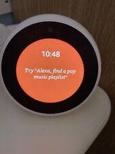 Amazon Echo Spot Smart Assistant - White EXCELLENT CONDITION