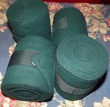 New Toklat Package (4) Fleece Polo Wraps  Green Horse Size