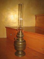 Une lampe à pétrole