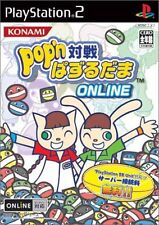 Used PS2 Pop'n Taisen Puzzle-Dama Online   Japan Import (Free Shipping)