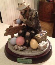 """Emmett Kelly Jr. figurine - """"Balloons For Sale II"""" - Signed by Emmett Kelly Jr."""