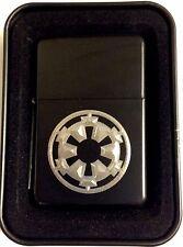 Storm Trooper Star Wars New Black Engraved Cigarette Lighter Biker Gift LEN-0065