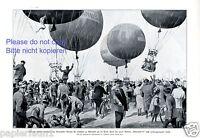 Verein für Luftfahrt Bitterfeld XL Druck 1925 Heißluftballon Ballon Wettfahrt