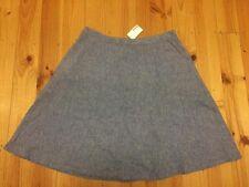 NWT Target Lines Linen Blue Skirt Size 16 (originally $40)