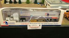 DCP#31003 ALL WEATHER WINDOWS PETE 379 SEMI CAB TRUCK DRY VAN TRAILER 1:64/CL