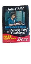 "Julia Child Lunch & Party Dishes Book Dove Soap Vol Ii 1972 6x3.5"" mini booklet"