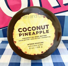 Bath & Body Works~Coconut Pineapple~Body Butter Intense Moisture 8 oz~Coco Shea