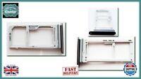 Samsung S9 G960 Micro SD / DUAL SIM Card Reader Tray Holder Midnight BLACK