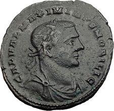MAXIMINUS II Daia 305AD RARE Possibly Unpublished LONDON Mint Roman Coin i63993