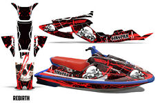SIKSPAK Yamaha Wave Raider Jet Ski Decals Graphics Kit Wrap 94-96 REBIRTH RED