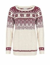Marks and Spencer Women's Medium Knit Wool Jumpers & Cardigans
