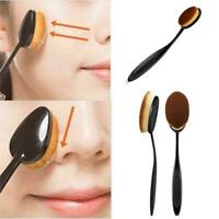 Soft Oval Face Make Up Foundation Cream Powder Concealer Cosmetic blending Brush