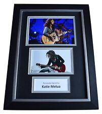 Katie Melua Signed A4 FRAMED Autograph Photo Display Music Memorabilia AFTAL COA