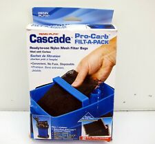 Penn Plax Pro-Carb Filter Bags for All Canister Filters Activated Carbon 2 Pack