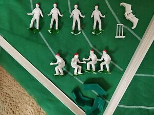 Peter Pan Test Match Cricket Game 1983 Spare Fielders Bowler Barriers Accessory