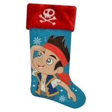 """NEW Disney JAKE & The Neverland Pirates Plush 18"""" Christmas Stocking Holiday"""