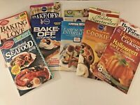 Lot 11 VTG Booklets Cookbooks Recipes Betty Crocker Pillsbury Seafood Holiday