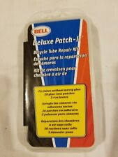 Genuine Bell Deluxe Patch It Bicycle Tube Repair Kit 20 Glue-Less Patches NIP