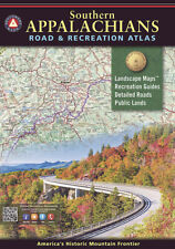 National Geographic Southern Appalachians Benchmark Maps Road & Recreation Atlas