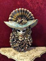 Turbante Venezia - Maschera indossabile veneziana artigianale in cartapesta