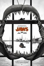 Jaws Movie Print Sdcc 2017 Exclusive Poster by Phantom City Creative for Mondo