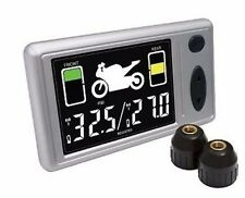 Premium Tire Monitor System Motorcycle / Wireless RF Remote With 2 valve caps