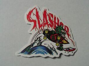 Santa Cruz Skateboards Sticker ~New Skate Logo Decal~ Skater Slasher
