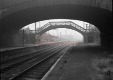 PHOTO  LNER GARFORTH RAILWAY STATION VIEW BETWEEN LEEDS AND YORK IN THE 1960'S