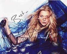 NATALIE DORMER Signed Autographed Photo