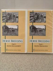 Horse Breeding VHS Part 1 Mating Preparation Part 2 Mating Management
